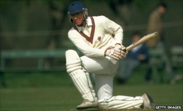 Former Somerset captain Peter Roebuck