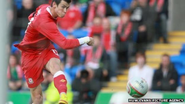 Gareth Bale scores against Norway