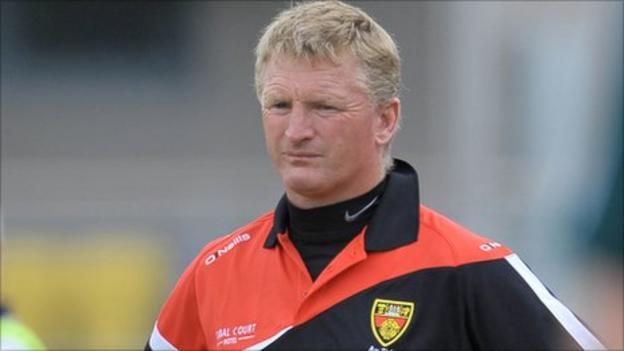Down boss Gerard Monan
