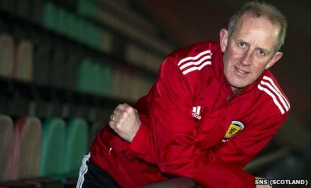 Scotland Under-21 manager Billy Stark