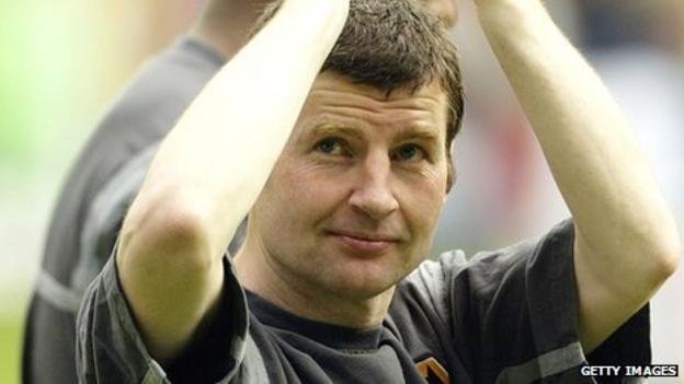 Former Manchester United left-back Denis Irwin