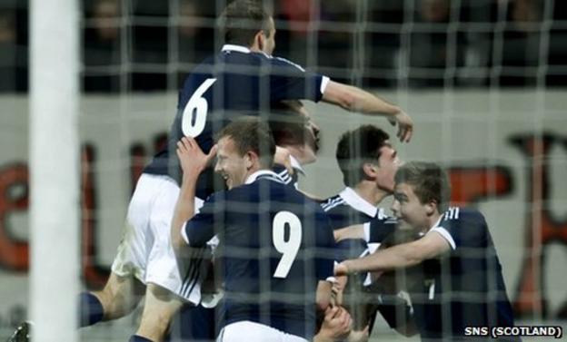Scotland Under-21s were 2-1 winners against the Netherlands