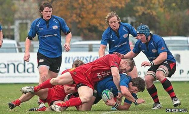 Cambridge against Jersey