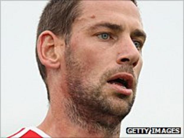 Stoke City midfielder Rory Delap