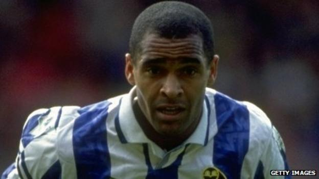 Mark Bright during his time at Sheffield Wednesday