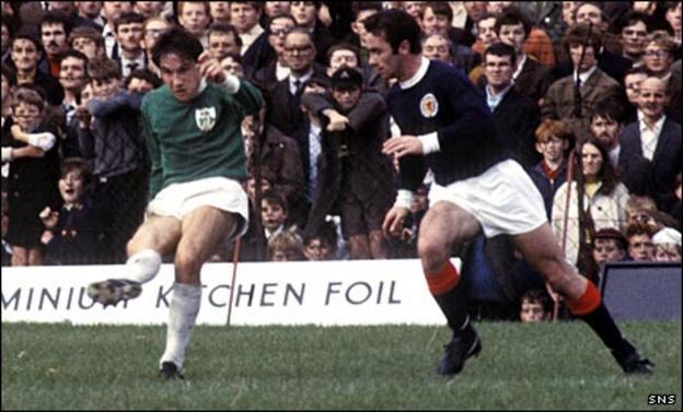 Willie Callaghan Snr (right)