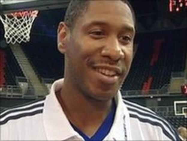 British basketball captain Drew Sullivan