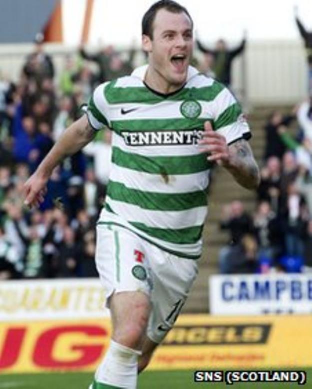 Anthony Stokes scored twice for Celtic