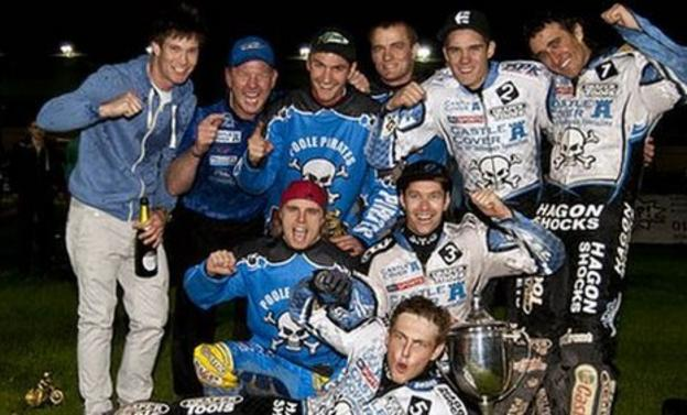 Poole Pirates and Davey Watt (middle row - right)