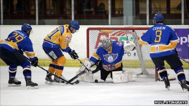 Hull Stingrays v Fife Flyers