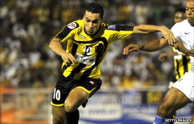 Algeria striker Abdelmalek Ziaya
