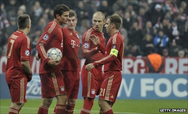 Bayern Munich's Mario Gomez
