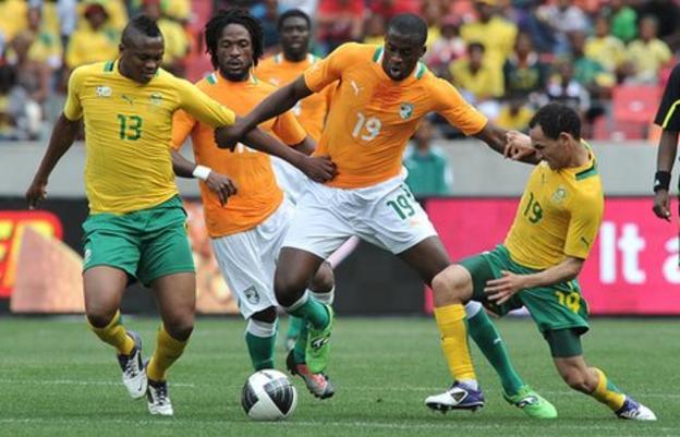 Ivory Coast vs South Africa