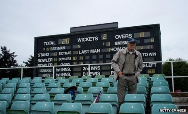The County Championship struggles to attract significant crowds
