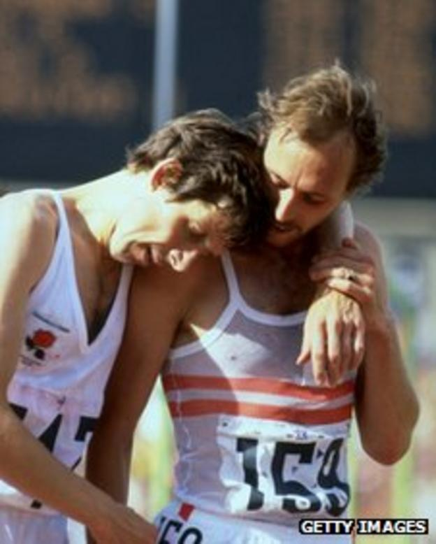 Brendan Foster and Mike McLeod