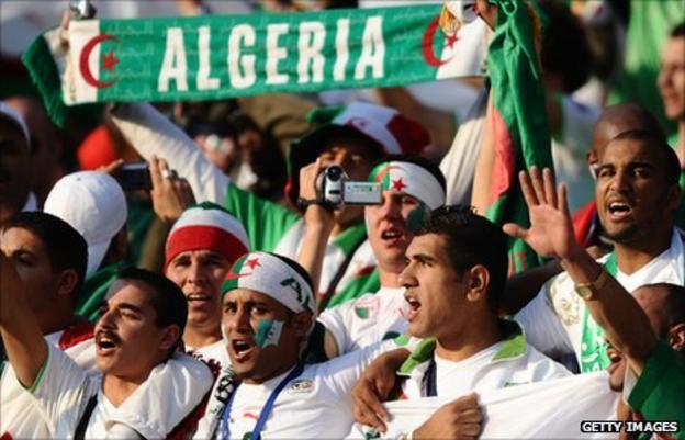 Algeria fans