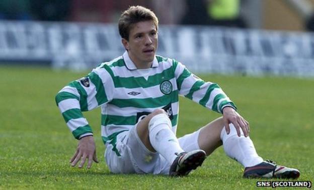 Juninho played for Celtic during season 2004/05