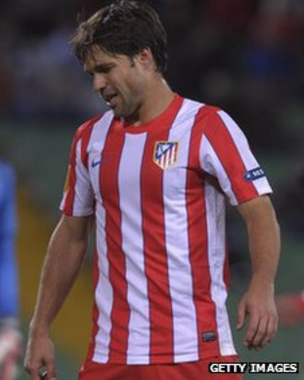Atletico Madrid playmaker Diego