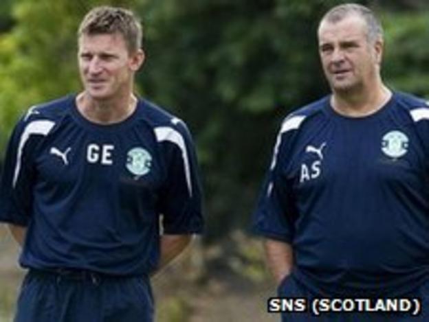 Gareth Evans and Alistair Stevenson