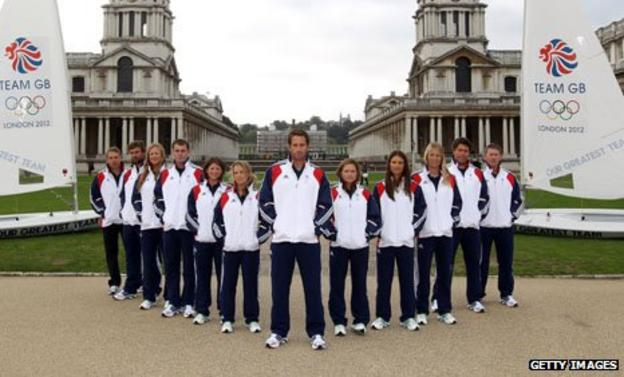 Great Britain's Olympic sailors