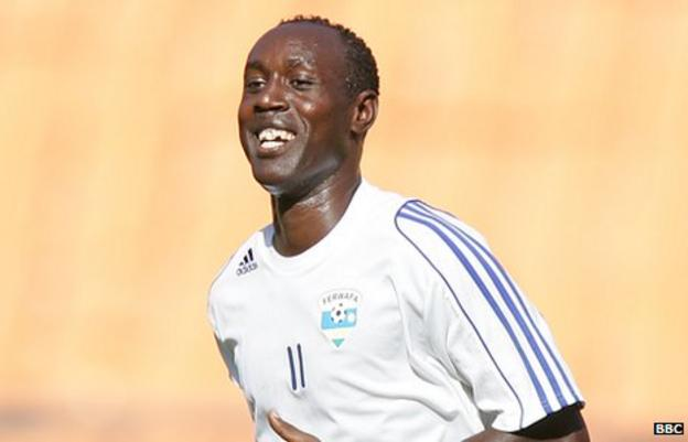 Rwanda captain Olivier Karekezi