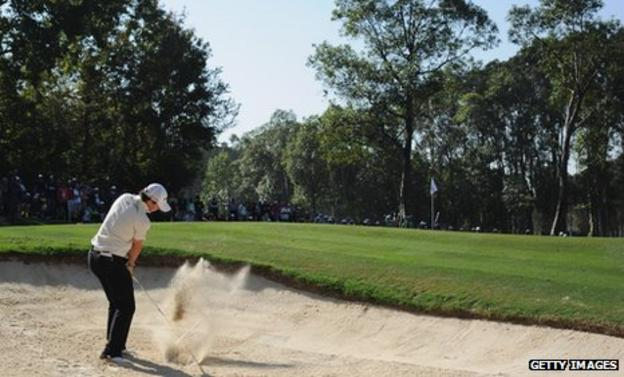 Rory McIlroy at the Hong Kong Open