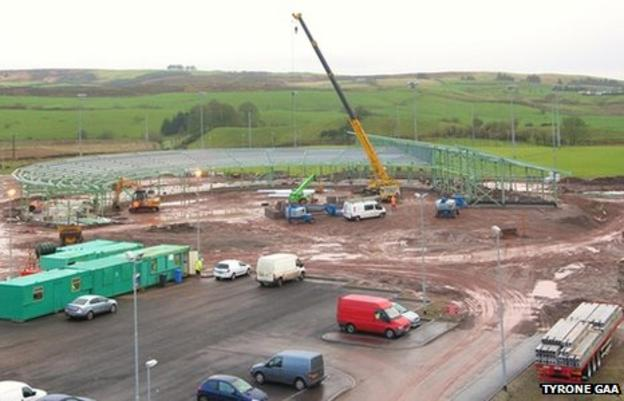 Work is continuing at the Garvaghey site