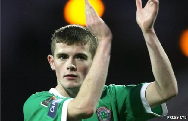 Cliftonville striker Rory Donnelly