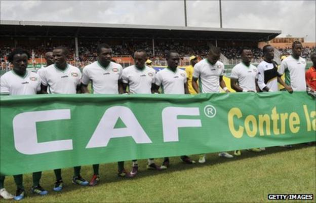 Burundi's national football team