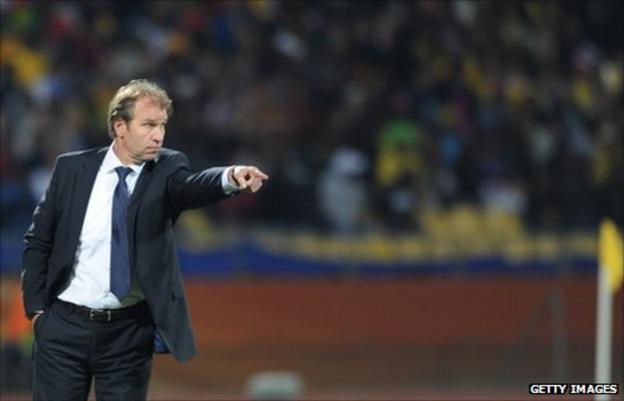 Morocco coach Pim Verbeek