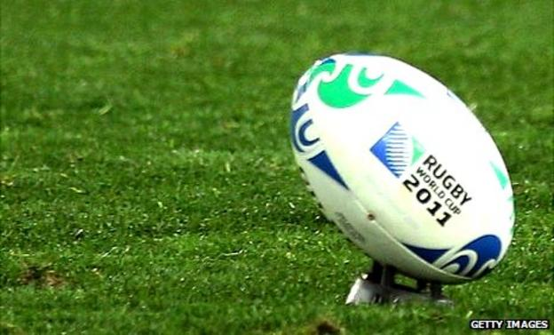 World Cup rugby ball