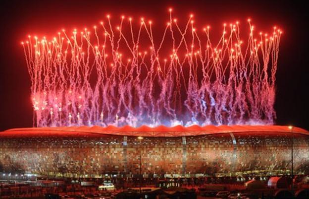 Johannesburg's Soccer City stadium