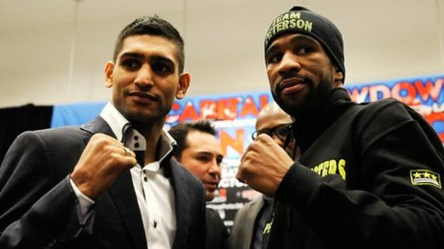 Amir Khan and Lamont Peterson