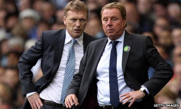 David Moyes, left, and Harry Redknapp disagree with the FA's appeal