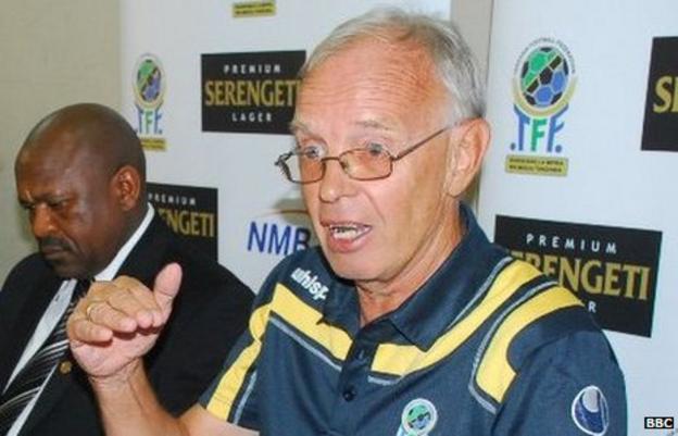 Jan Poulsen, Tanzania coach