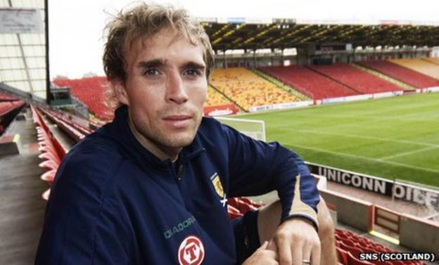 Russell Anderson left Pittodrie in 2007