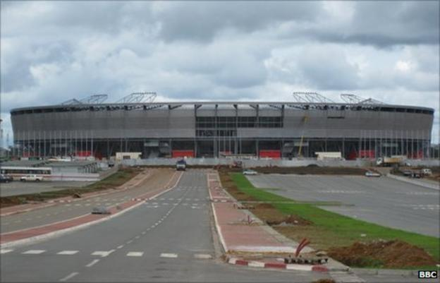 The Estadio de Bata in Equatorial Guinea