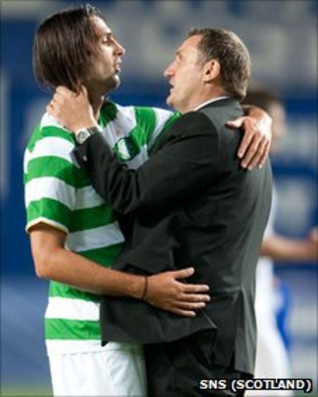 Georgios Samaras and Tony MOwbray