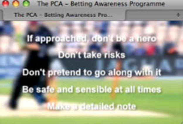Screen grab of PCA's online tutorial