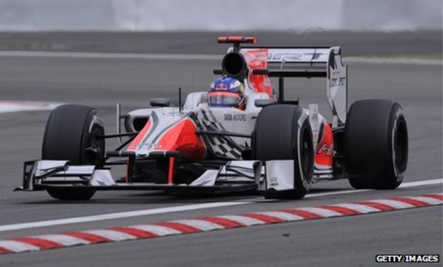 HRT have finished second last in the constructors' championship for the last two years