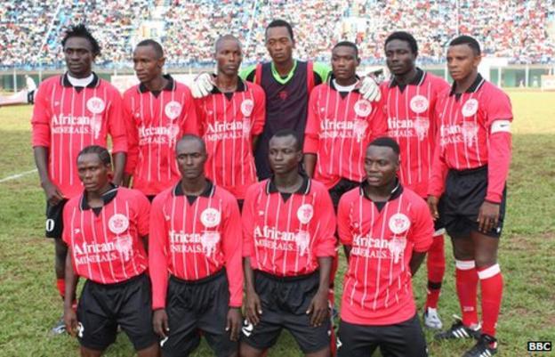 Sierra Leone side East End Lions