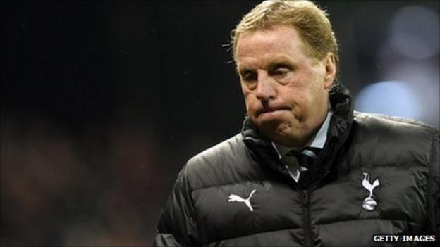 Tottenham Hotspur boss Harry Redknapp