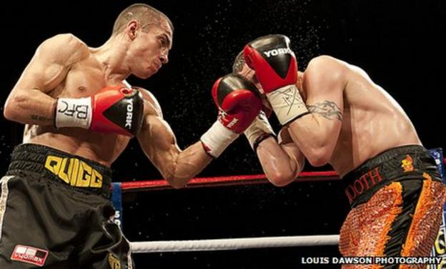 Scott Quigg started out as a professional in 2007