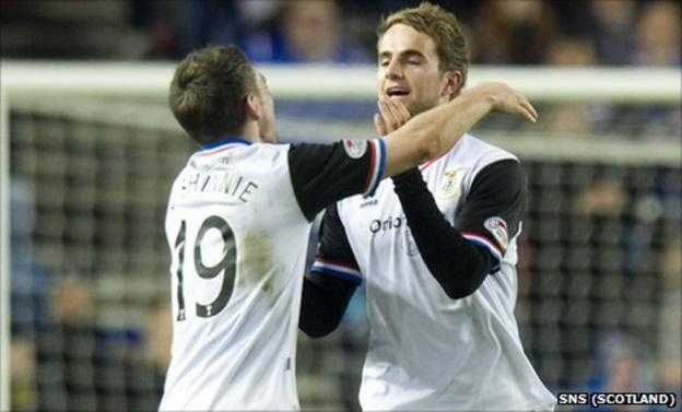 Graeme and Andrew Shinnie