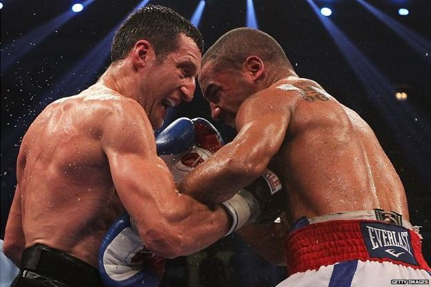 Carl Froch (left) and Andre Ward