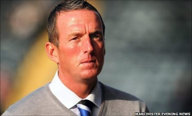 Rochdale manager Steve Eyre