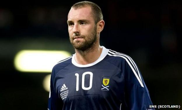 Scotland striker Kris Boyd is a free agent
