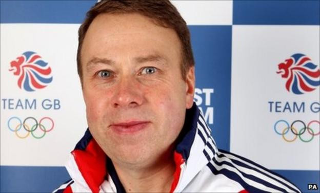 Andy Hunt, Chief Executive of the British Olympic Association