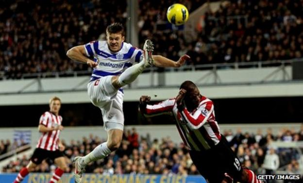 QPR forward Jamie Mackie