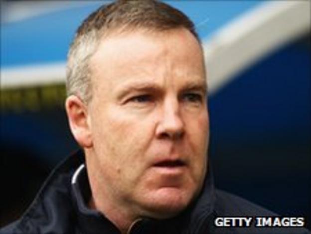 Millwall manager Kenny Jackett